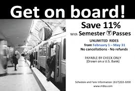 discounted semester mbta passes available for purchase
