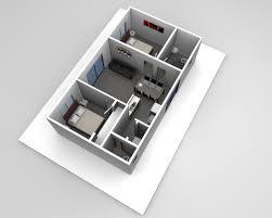 2 Bedroom Design The Serge 2 Bedroom Flat Design Sydney 60m2 Pinterest