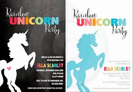 pen paper flowers party preps rainbow unicorn birthday party