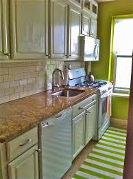 temporary kitchen backsplash