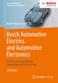 bosch automotive electrics and automotive electronics ebook by