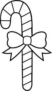 candy cane clipart black and white pencil and in color candy