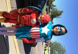 Superhero Family Halloween Costumes End Of Summer Countdown For The Family Go Fayetteville Go