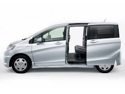 in japanese the honda freed hybrid and the mazda mpv