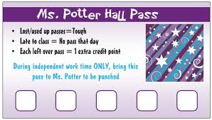 Bathroom Pass Template Hall Passes U003c Can U0027t Find Substitution For Tag Blog Title U003e