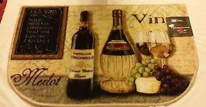 Vineyard Kitchen Rugs Grape Kitchen Rug Ebay