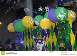 mardi gras parade floats colorful float in mardi gras parade editorial photography image