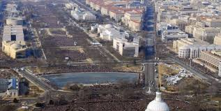 picture of inauguration crowd trump called the national parks service to complain about
