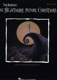 the nightmare before christmas songbook