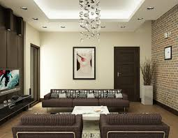 home design nguyen brown and white living room interior design