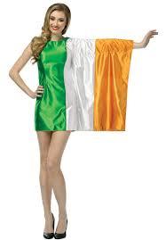 Irrland Flag Ireland Flag Dress Irish Fancy Dress Costume Escapade Uk
