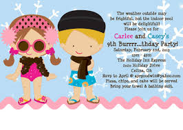 pool party birthday invitations ideas u2013 bagvania free printable