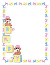 baby shower frames frame clipart baby shower pencil and in color frame clipart baby