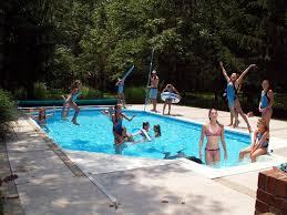 Best Backyard Pool Ideas Images On Pinterest Small Backyards - Backyard pool designs ideas