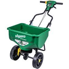 vigoro 15000 sq ft broadcast spreader 690100 the home depot