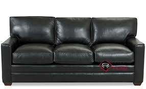 Leather Blend Sofa Palo Alto Leather Sofa By Savvy Is Fully Customizable By You