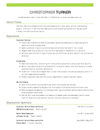 Sample Resume For Customer Service Rep Customer Advisor Resume
