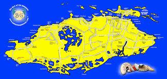 Map Bahamas New Providence And Nassau Bahamas Bahamas Gateway