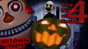 del taco halloween horror nights five nights at freddy u0027s 4 halloween update fnaf4 halloween dlc
