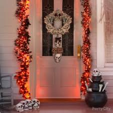 Halloween Skeleton Door Decoration by Halloween Skeleton And Bike Idea Haunted House Entrance Ideas