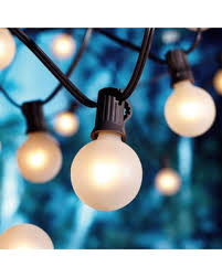amazing deal on mainstays 20 count frosted glass globe string lights