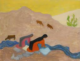 mexican washerwomen artwork by milton avery oil painting art prints on canvas for