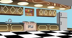 restaurant kitchen background interior design