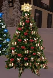 christmas tree with lights sale second life marketplace christmas tree 61 with twinkling red and