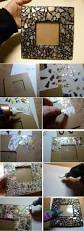 How To Decorate A Mirror Best 25 Decorated Mirrors Ideas On Pinterest Diy Flower Mirror