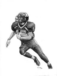 football player drawing free download clip art free clip art