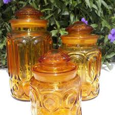vintage canisters for kitchen best vintage kitchen canisters glass products on wanelo