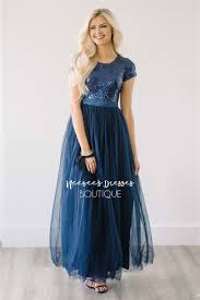 modest bridesmaid dresses navy tulle sparkly modest dress beautiful modest bridesmaids