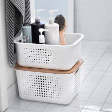 Glass Bathroom Storage Storage Containers