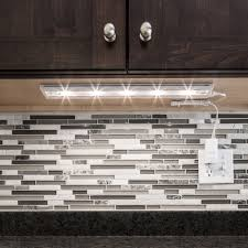 under cabinet lighting led direct wire linkable white led 18 inch under cabinet light free shipping on orders