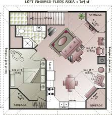 garage with loft floor plans floor plan one simple covered front bedroom apartment beautiful