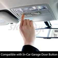 garage door covers style your garage amazon com skylink 318tr universal in car garage door remote