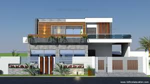 3d front elevation com home remodeling and renovation of 1 kanal