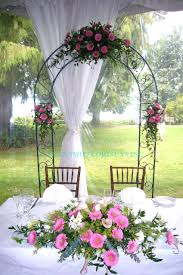 wedding arches canada outdoor weddings in vancouver bc wedding image hanamo florist