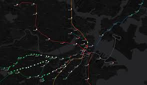 Mbta Map Boston by Interactive Mbta Map Shows Average Rent For Each T Stop