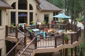 Dream Decks by Deck Plans Designs U0026 Ideas Outdoor Living Ideas Timbertech