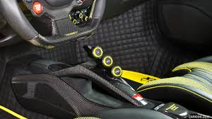 ferrari yellow interior 2016 mansory 4xx siracusa based on ferrari 488 gtb interior