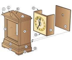 Free Wooden Clock Plans Download by Free Wooden Mantel Clock Plans Plans Diy Free Download Swiss Made