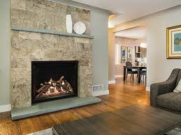 Clean Fireplace Stone by Truflame Fireplaces Direct Vent American Hearth