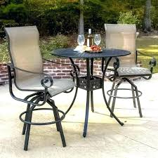 white pub table bar height side table patio furniture high chairs