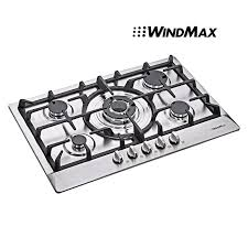 30 Inch 5 Burner Gas Cooktop Amazon Com Windmax New 30 Inch Stainless Steel 5 Burner Built In