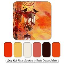 modern fall wedding color palette