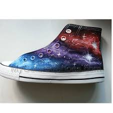 galaxy shoes hand paint sneakers custom special christmas gift