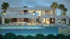 modern villas for sale luxury contemporary villas and real contemporary villa la cerquilla nueva andalucia marbella