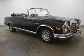 mercedes classic convertible 1971 mercedes benz 280se 3 5 cabriolet conversion beverly hills