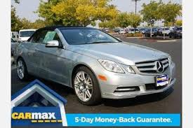 mercedes e class convertible for sale used 2012 mercedes e class convertible pricing for sale